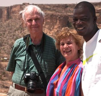 Guido e Marcella Ghio con Congo